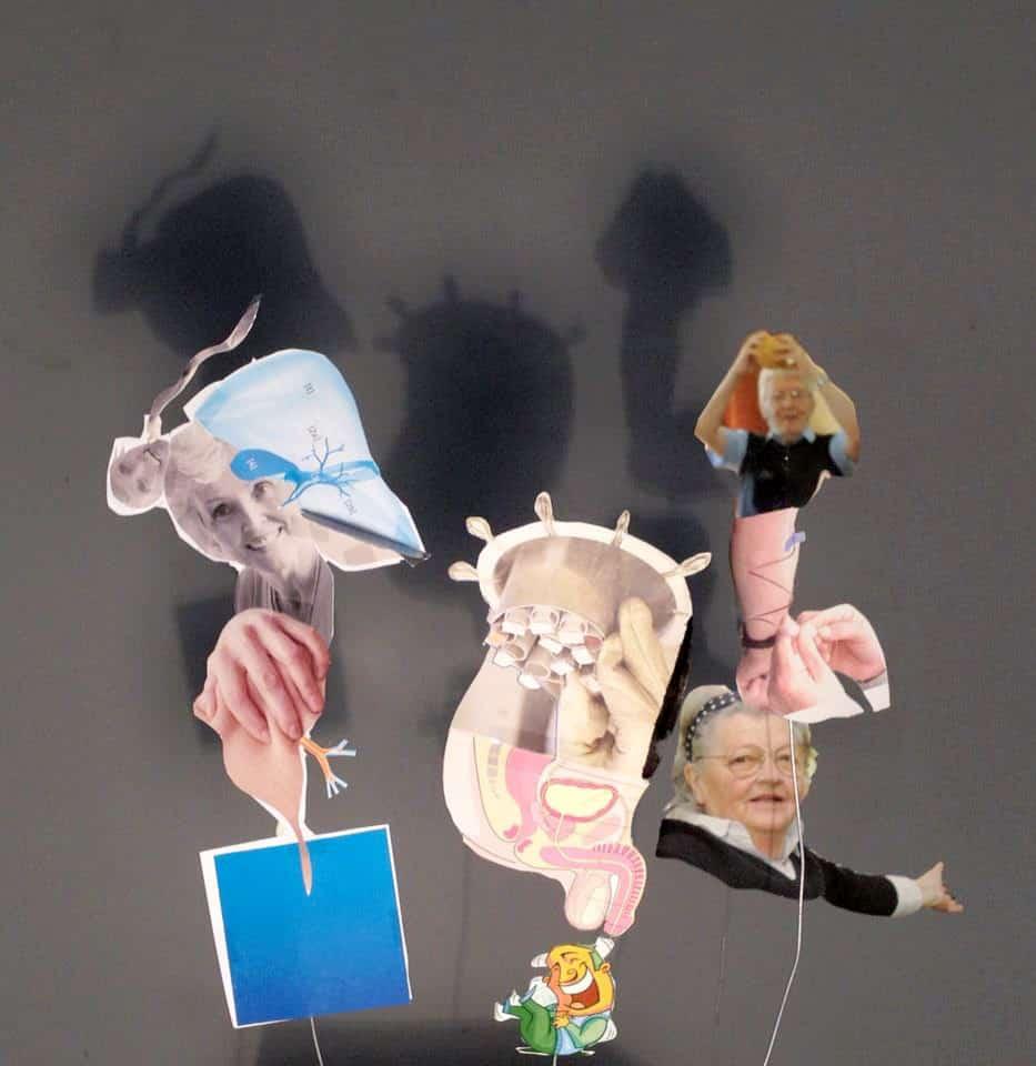 "Mateusz Kula, Paper puppets for shadow opera based on ""Verstörung"" novel by Thomas Bernhard"