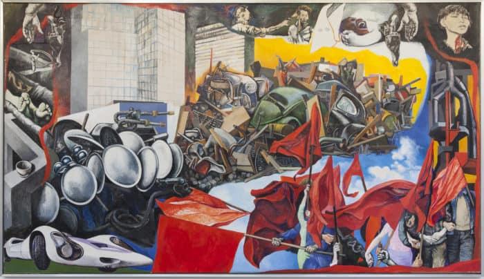 Guttuso Maggio flashes of the future exhibition