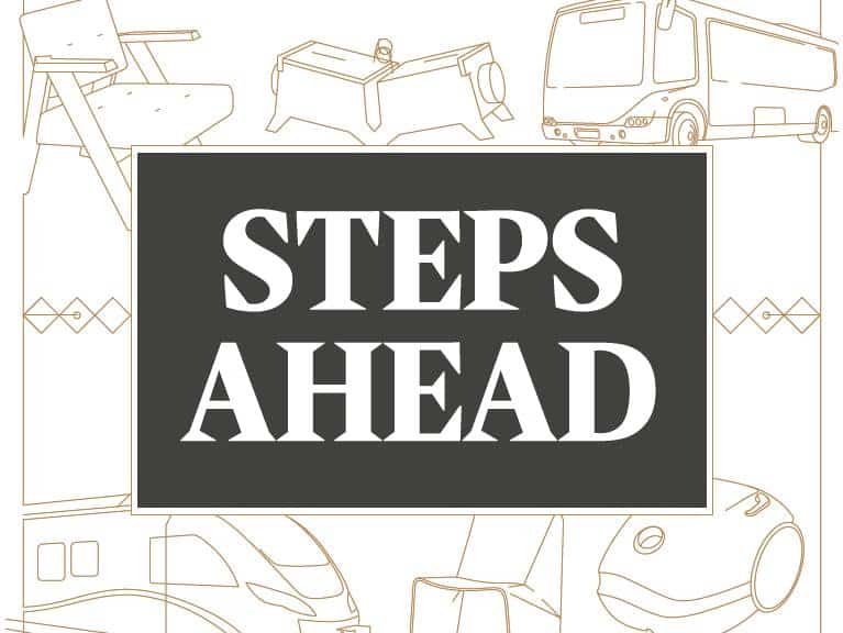 steps ahead exhibition