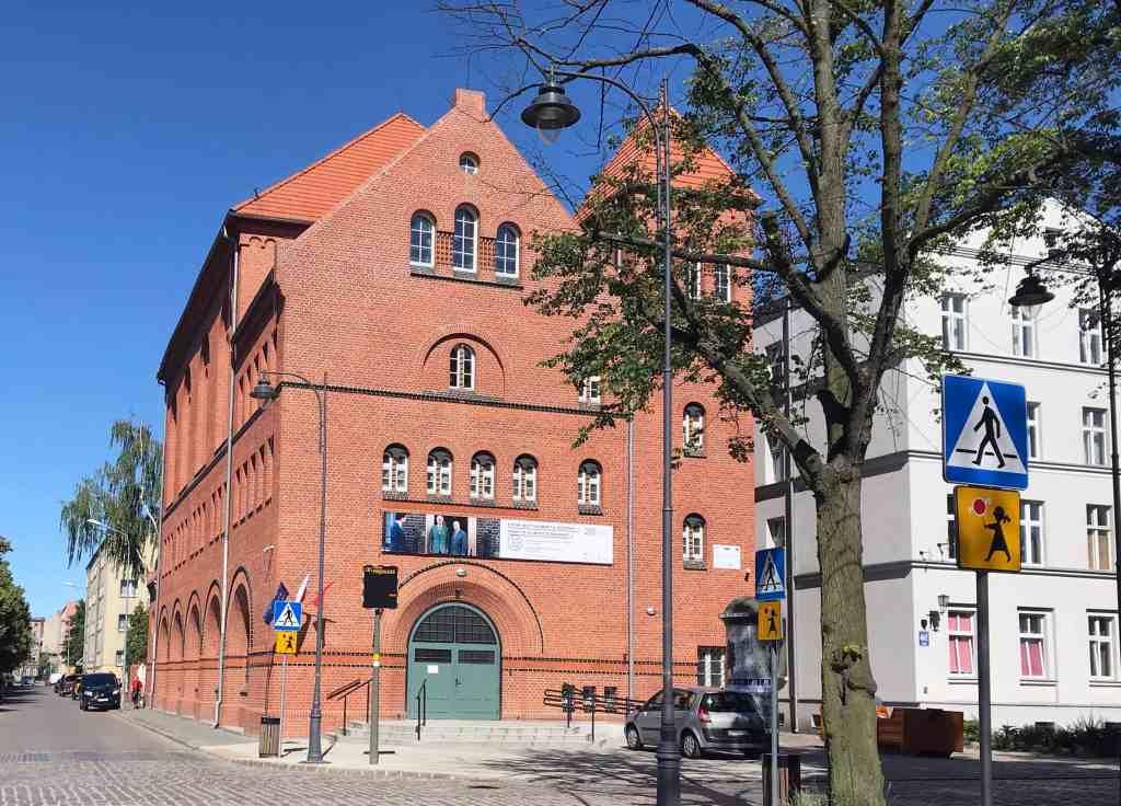 LAZNIA CCA , the building at Gdansk-Dolne Miasto, photo Jadwiga Charzyńska