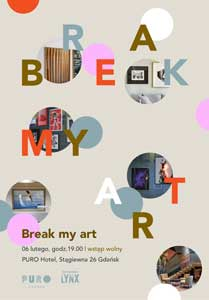 break my art event