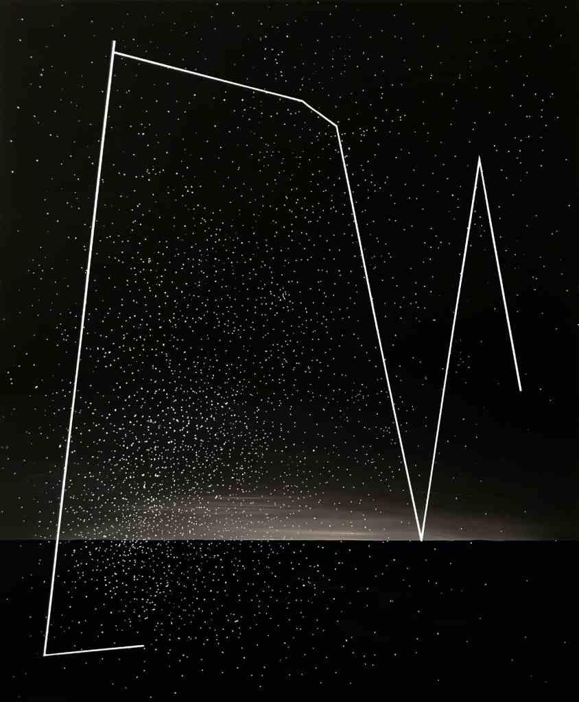 Łukasz Patelczyk, Shooting Stars, oil paint, 120 x100, 2018.
