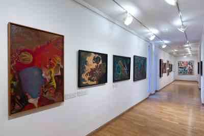AbstrakcePL, Muzeum moderního umění Olomouc, Trojlodí, photo Zdeněk Sodoma (25)