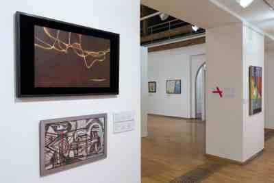 AbstrakcePL, Muzeum moderního umění Olomouc, Trojlodí, photo Zdeněk Sodoma (27)