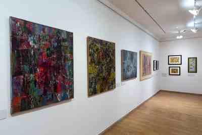 AbstrakcePL, Muzeum moderního umění Olomouc, Trojlodí, photo Zdeněk Sodoma (31)