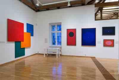 AbstrakcePL, Muzeum moderního umění Olomouc, Trojlodí, photo Zdeněk Sodoma (33)