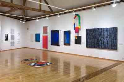 AbstrakcePL, Muzeum moderního umění Olomouc, Trojlodí, photo Zdeněk Sodoma (8)