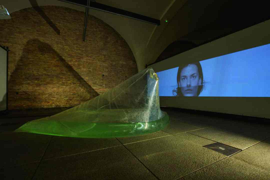 """View of the installation """"The Thing about Thirst by Kornelia Dzikowska in the Armoury of Arts in Gdańsk, courtesy Kornelia Dzikowska"""