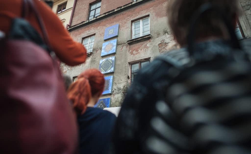Jamais vu by Mirosław Jurczuk, 10 Festival of Art in Public Spaces, Open City, Lublin