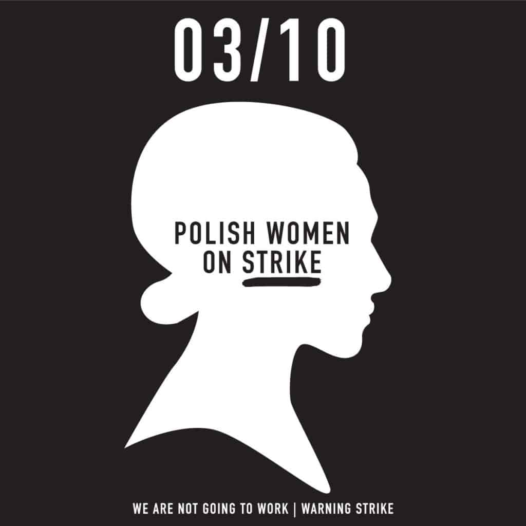 Ola Jasionowska, POLISH WOMEN ON STRIKE