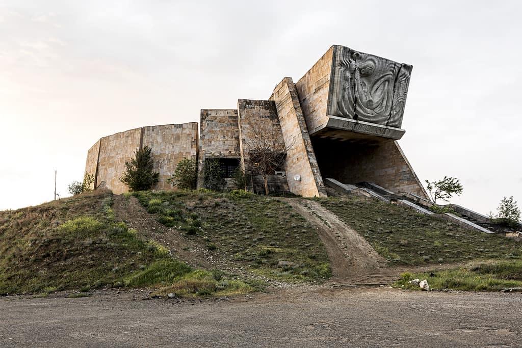 Archaeology Museum, Tbilisi, Georgia, 1988