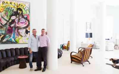 ART COLLECTORS | ADRIAN RIKLIN AND ANTONIS STACHEL