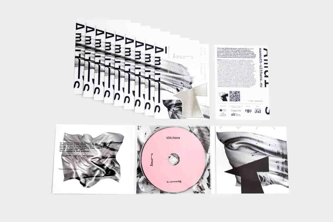 Āmurs – CD album by Mammoth Ulthana – Jacek Doroszenko and Rafał Kołacki, press materials