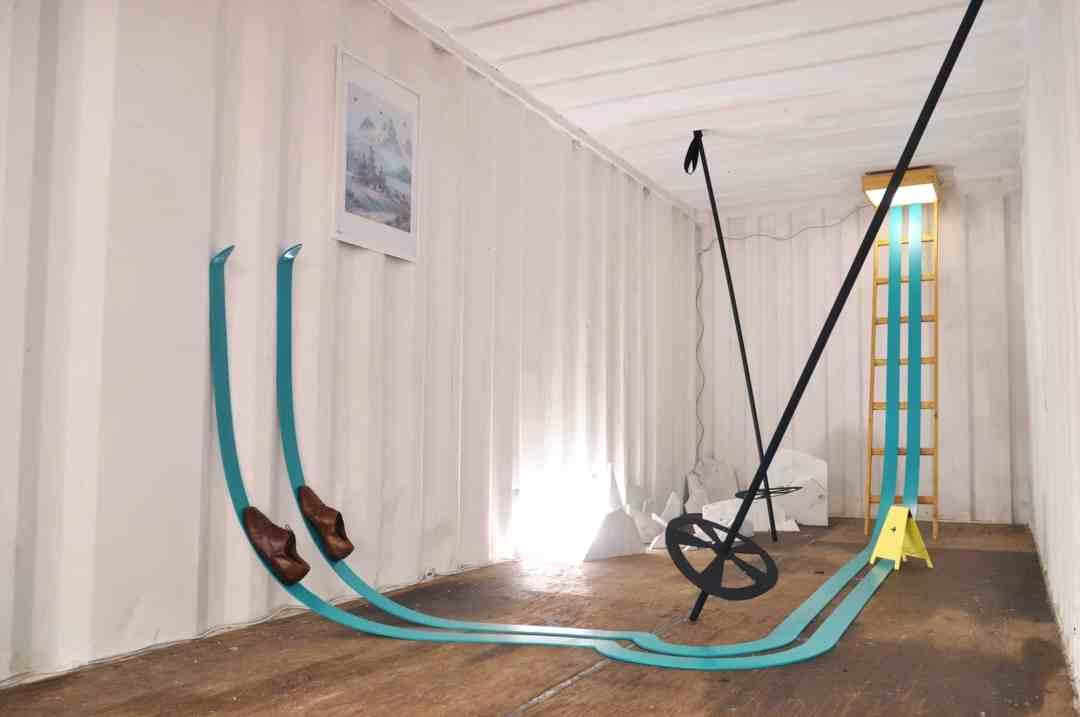 Anna Raczynska, Early ripe, Early rotten, site-specific installation, PRIMA KUNST, Stadtgalerie, Kiel 2016