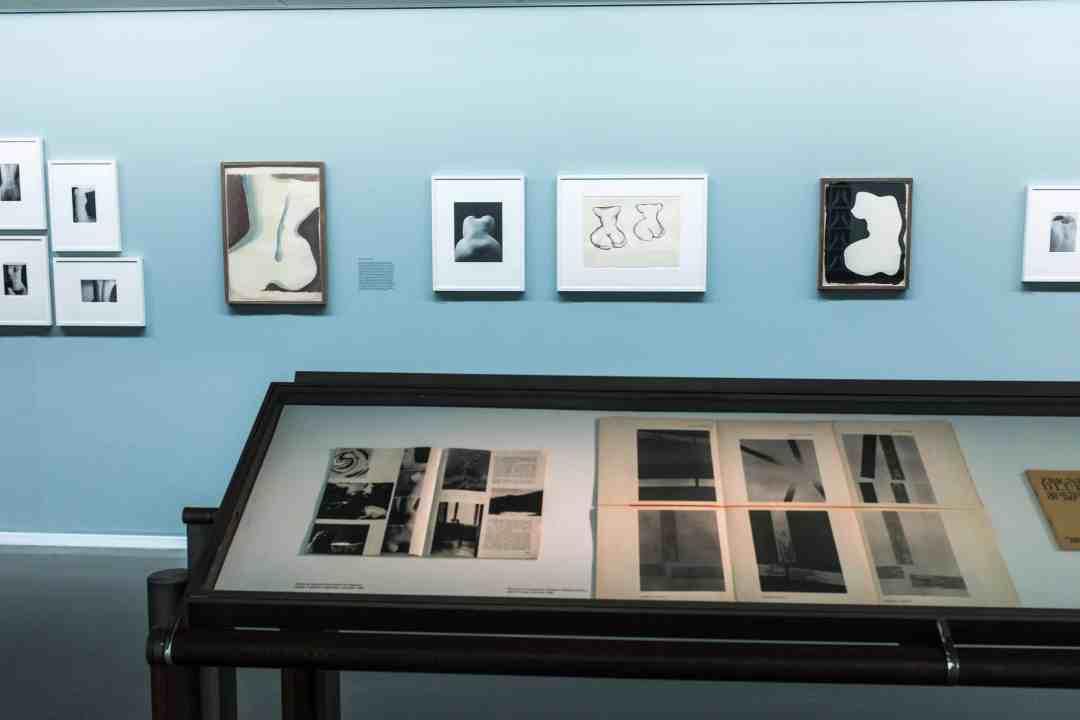 Exhibition view Zbigniew Dłubak - Héritier des avant-gardes in Foundation Cartier-Bresson in Paris, courtesy of the Foundation Cartier-Bresson