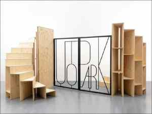 Eric Tabuchi, Portail Utopark, 2015, Sculpture