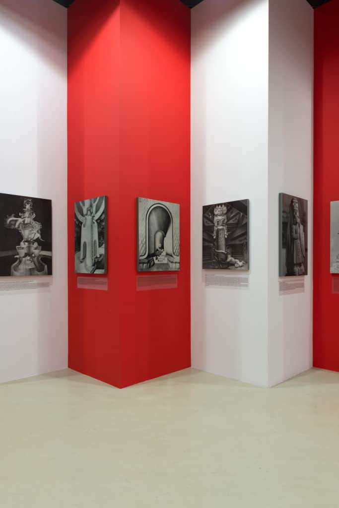 "Exhibition view ""Late Polishness. Forms of national identity after 1989"" at Ujazdowski Castle Centre for Contemporary Art, photo: Bartosz Górka"