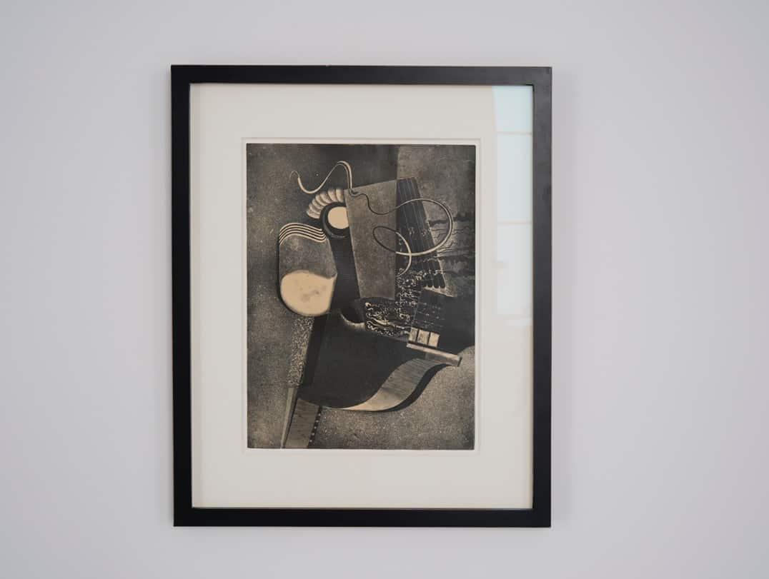 Karol Hiller, Heliographic composition XVIII, courtesy Olszewski Gallery