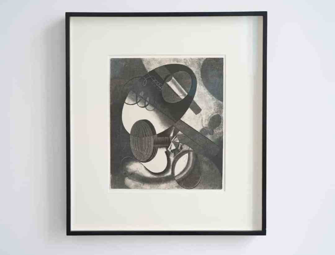 Karol Hiller, Heliographic composition XXIX, courtesy Olszewski Gallery
