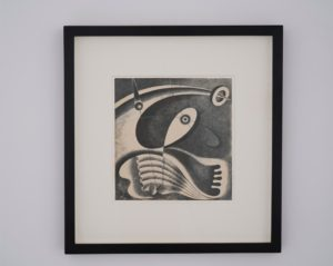 Karol Hiller, Heliographic composition, c. 1936-1937, courtesy Olszewski Gallery