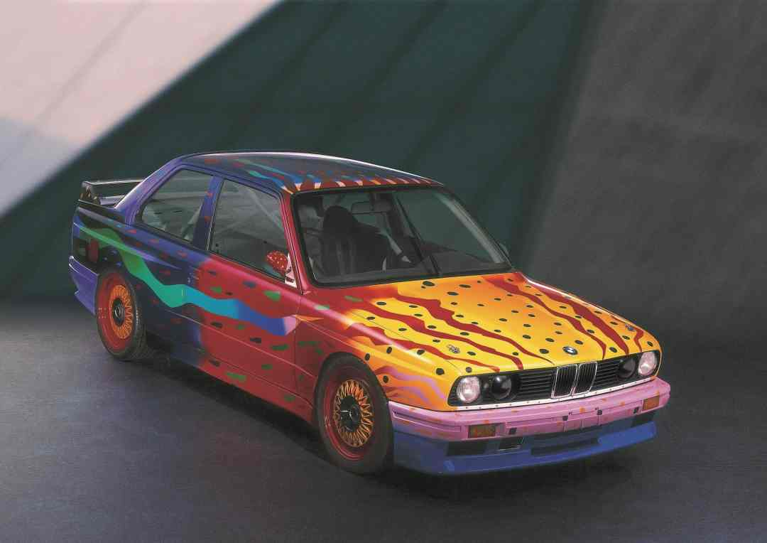 Ken Done, Art Car, 1989, BMW M3Group A Racing Version, Courtesy of BMW