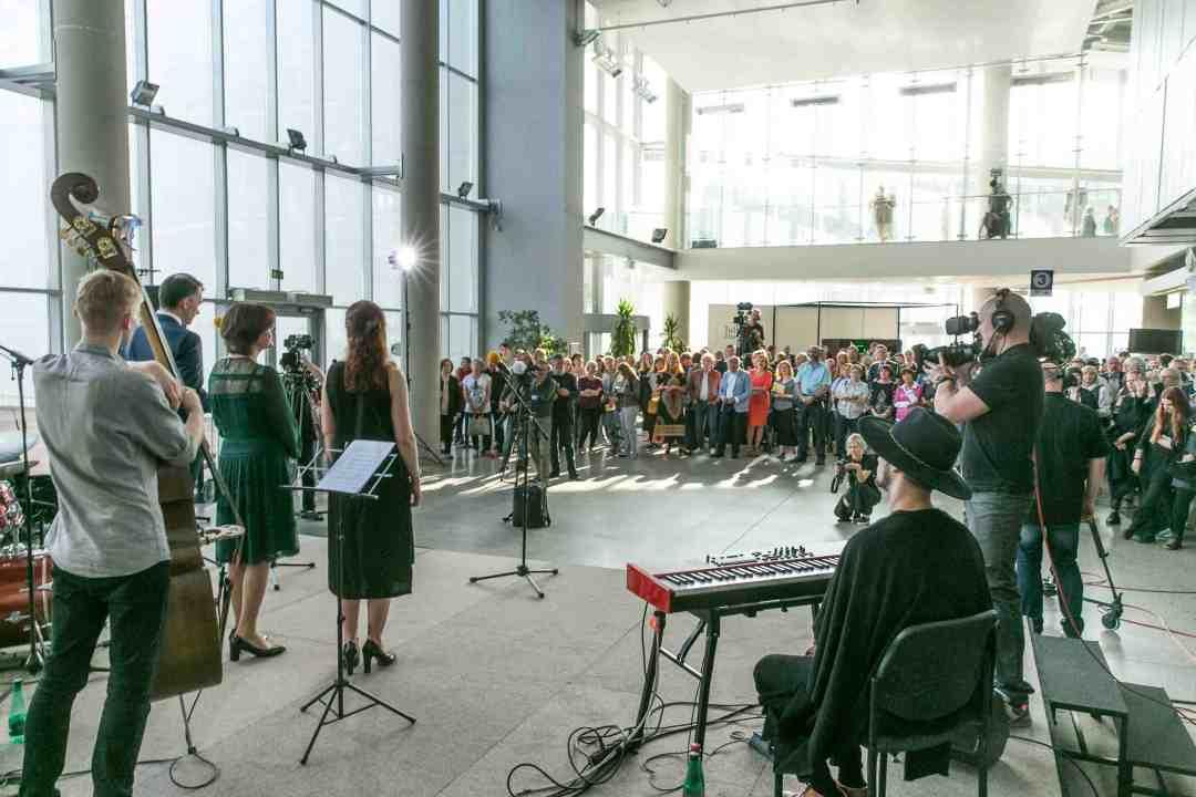 ArtVilnius'18 opening ceremony