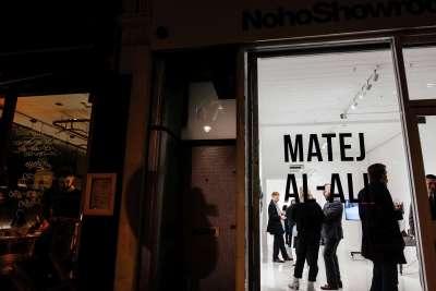 "Matej Al-Ali, ""Conservation of mass"" exhibition, The MAK Gallery, London, 2019."