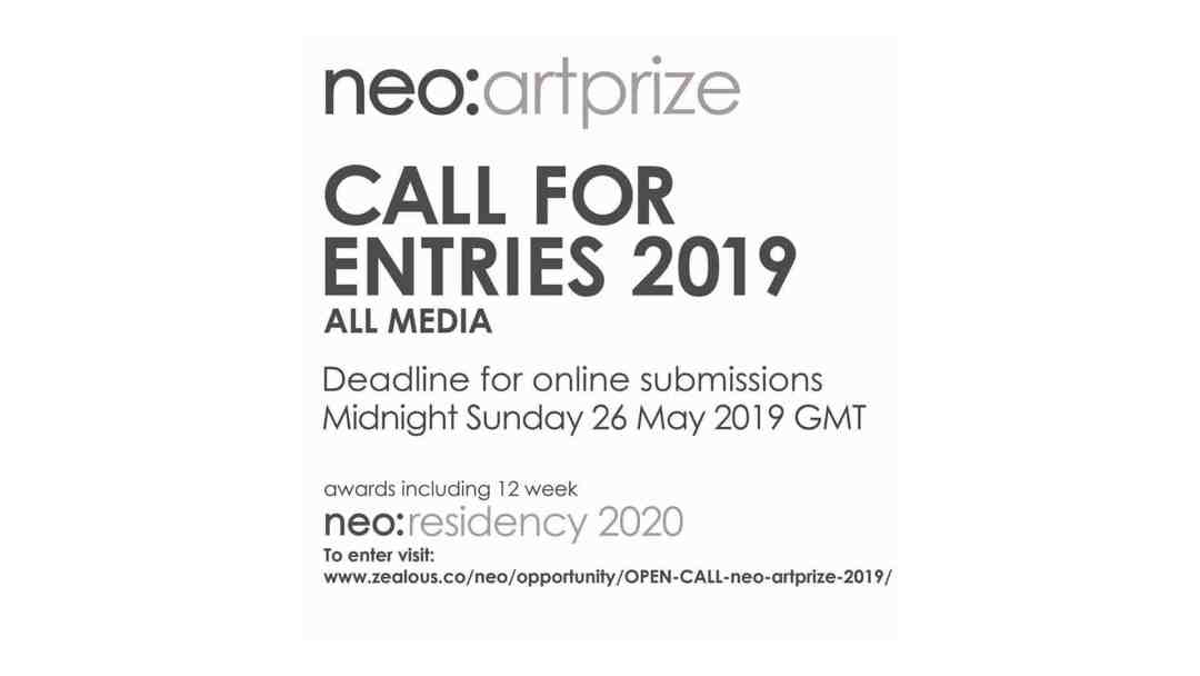 neo-artists call for entries 2019