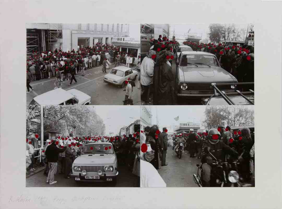 Ryszard Waśko, Poppy Checkpoint Charlie, 1989