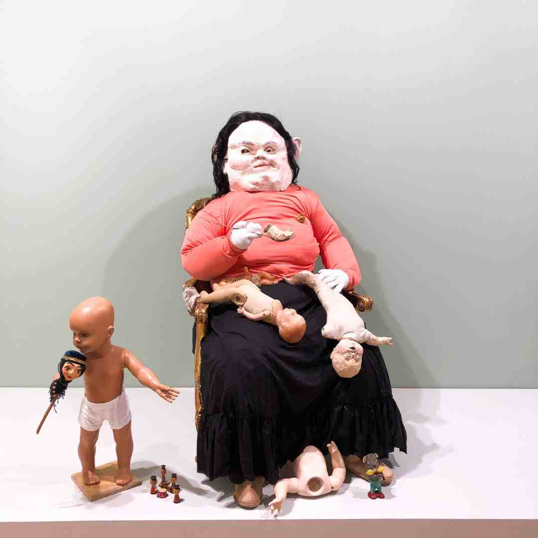 Paula Rego, Gluttony, Marlborough Gallery