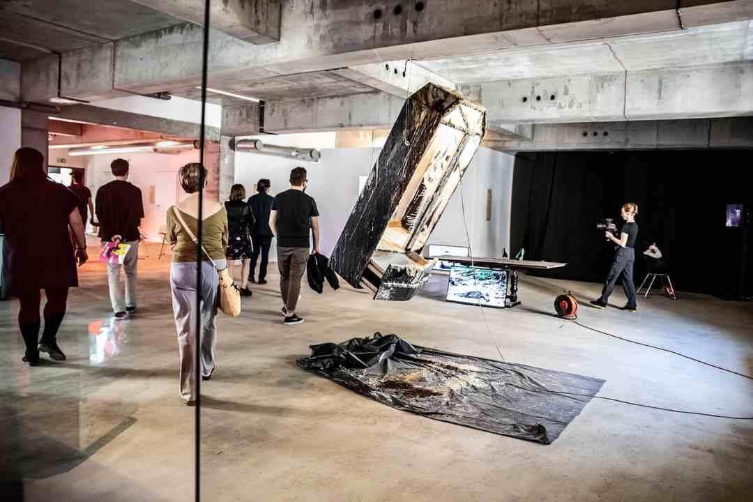 Wro Biennale 2019, Oswajanie bezdomnego, Magdalena Kieszniewska, photo: Natalia Kabanow