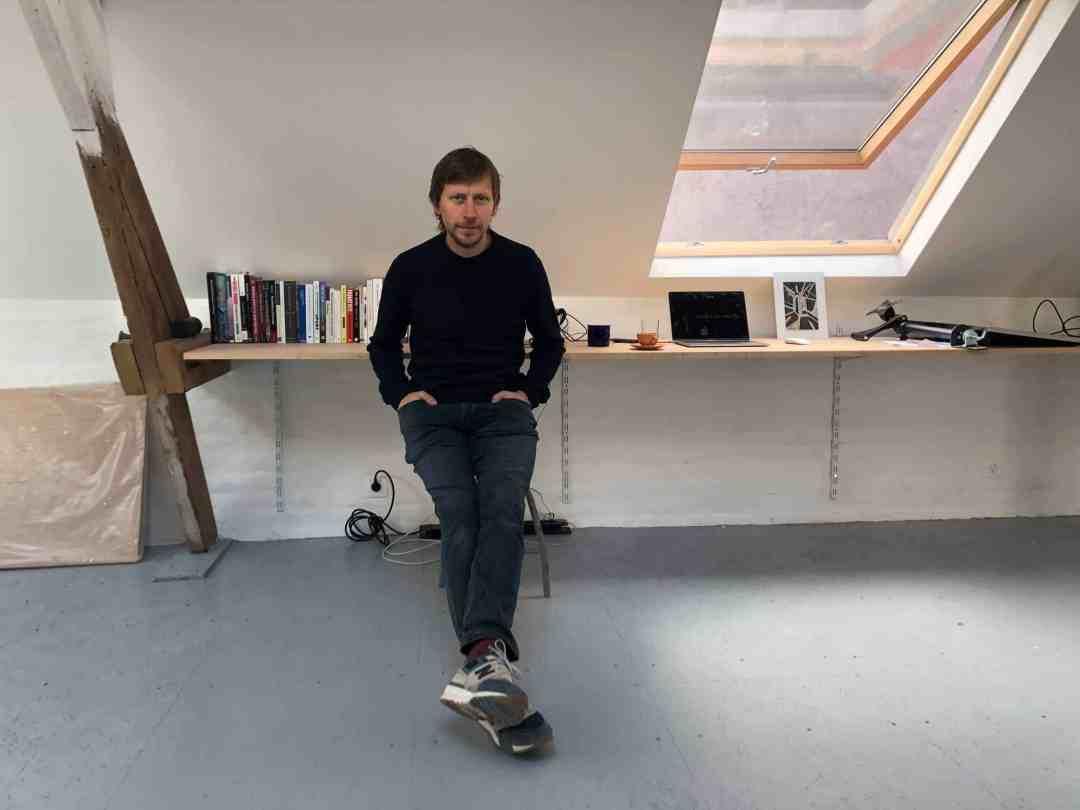 Marcin Dudek studio visit