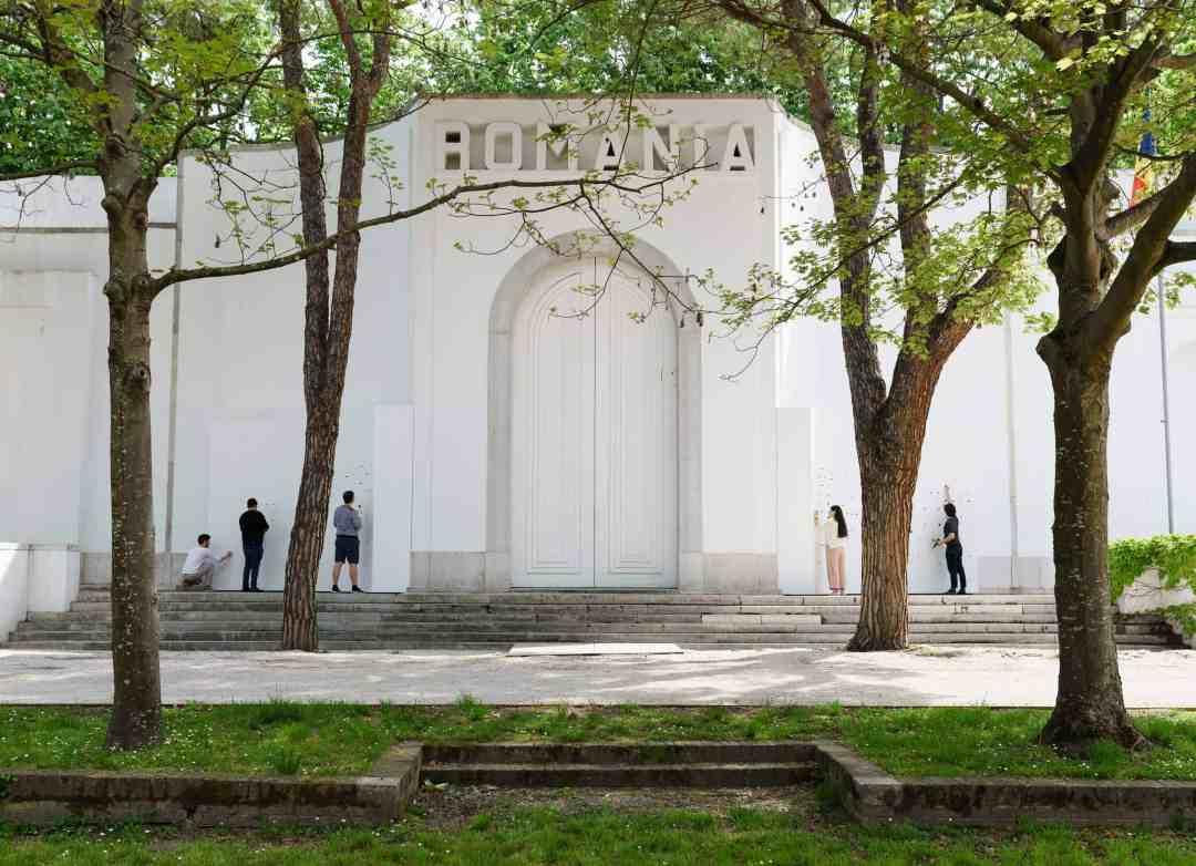 Romanian Pavilion, Photo YAP studio Pavel Curagău