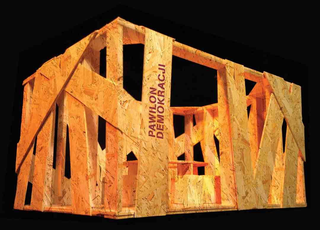 Adrian Sina's Democracy Pavilion