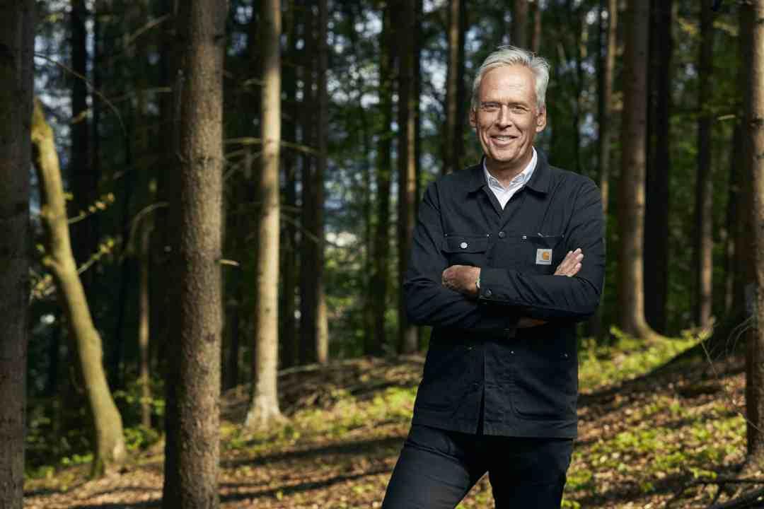 Portrait of Klaus Littmann, 2019, Photo creat Emmanuel Fradin, Courtesy of For Forest