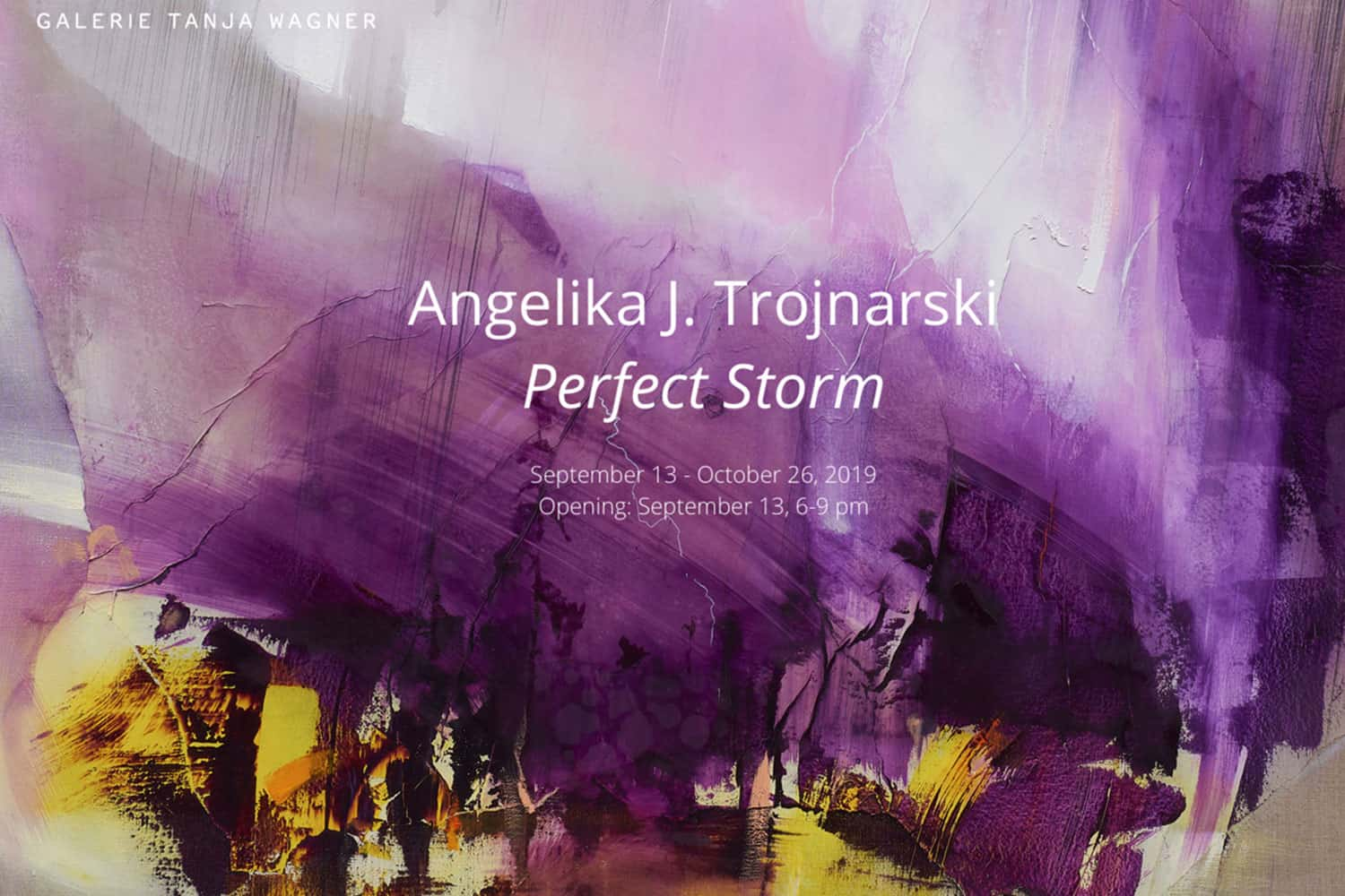 angelika trojnarski exhibition