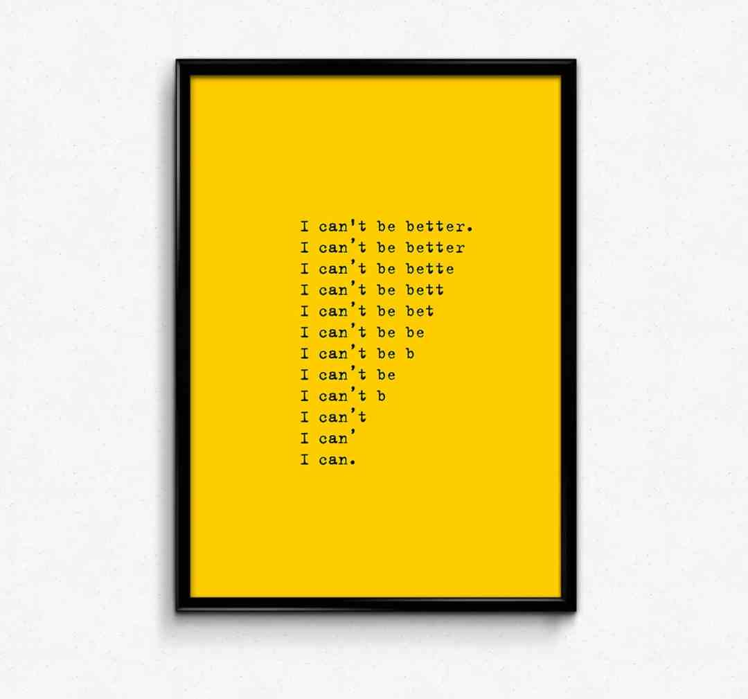 """""""I can""""   Vadym Solowski, poster"""