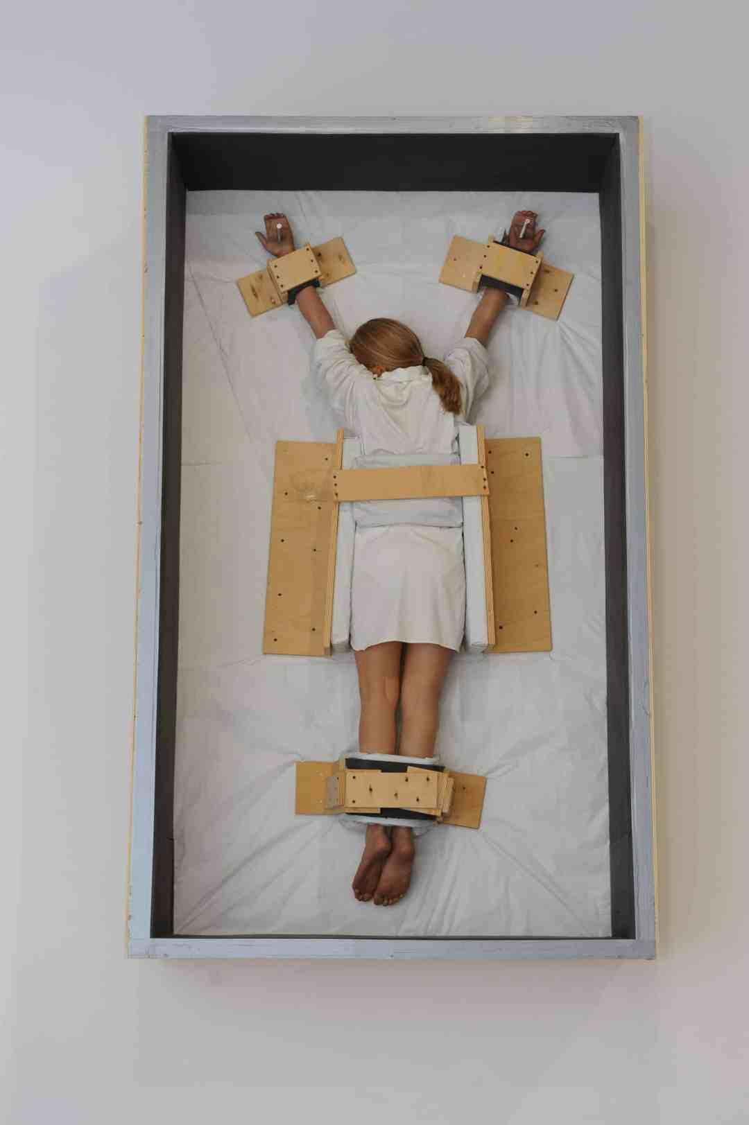 "Maurizio Cattelan ""Amen"" exhibition, Ujazdowski Castle Centre for Contemporary Art"