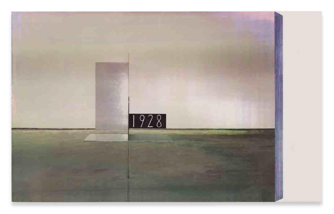 R.H. Quaytman Łódzki wiersz, Rozdział 2 (Replika Kompozycji przestrzennej Kobro, 1928) Łódź Poem, Chapter 2 (Replica of Kobro's Spatial Composition, 1928), 2004