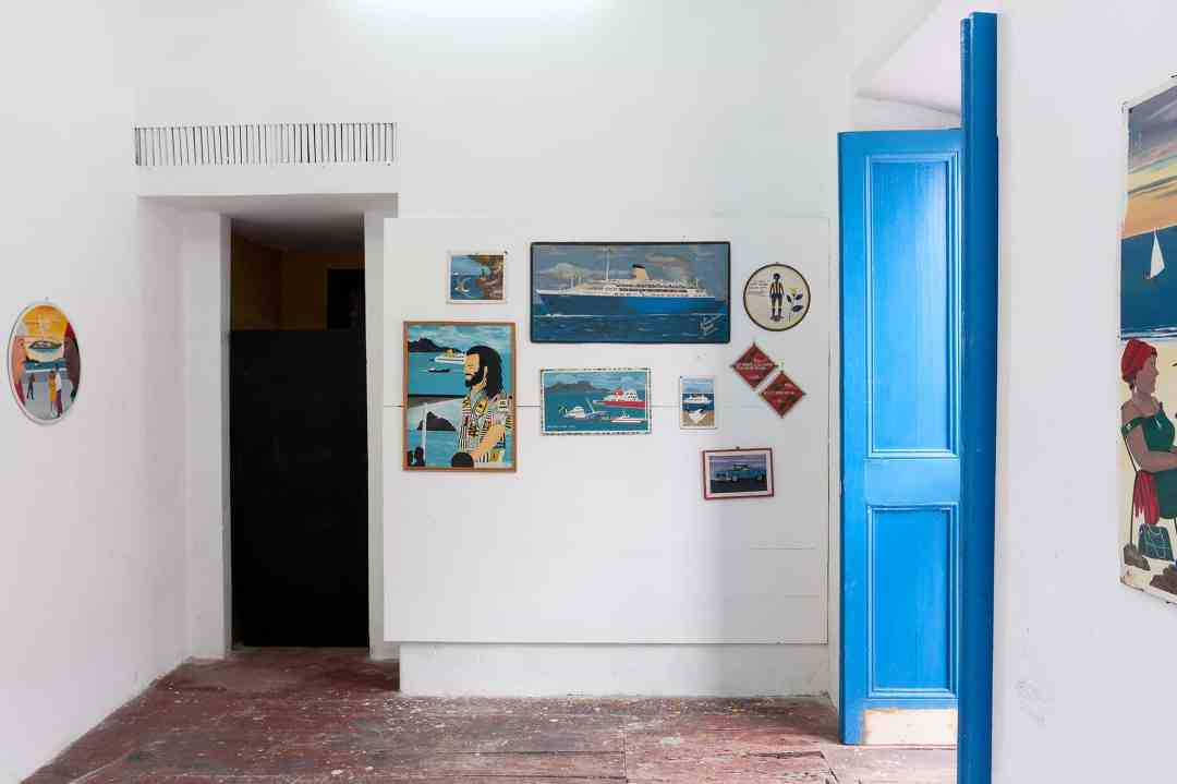 """Partial view of the exhibition Mundo Cão (""""Dog World""""), with works by the late Armando Pinheiro (co-curated with Elisângela Monteiro)"""