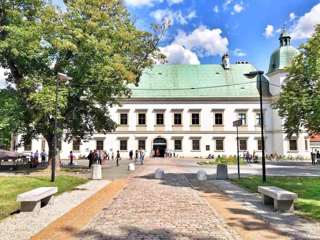 Ujazdowski Castle Centre for Contemporary Art in Warsaw