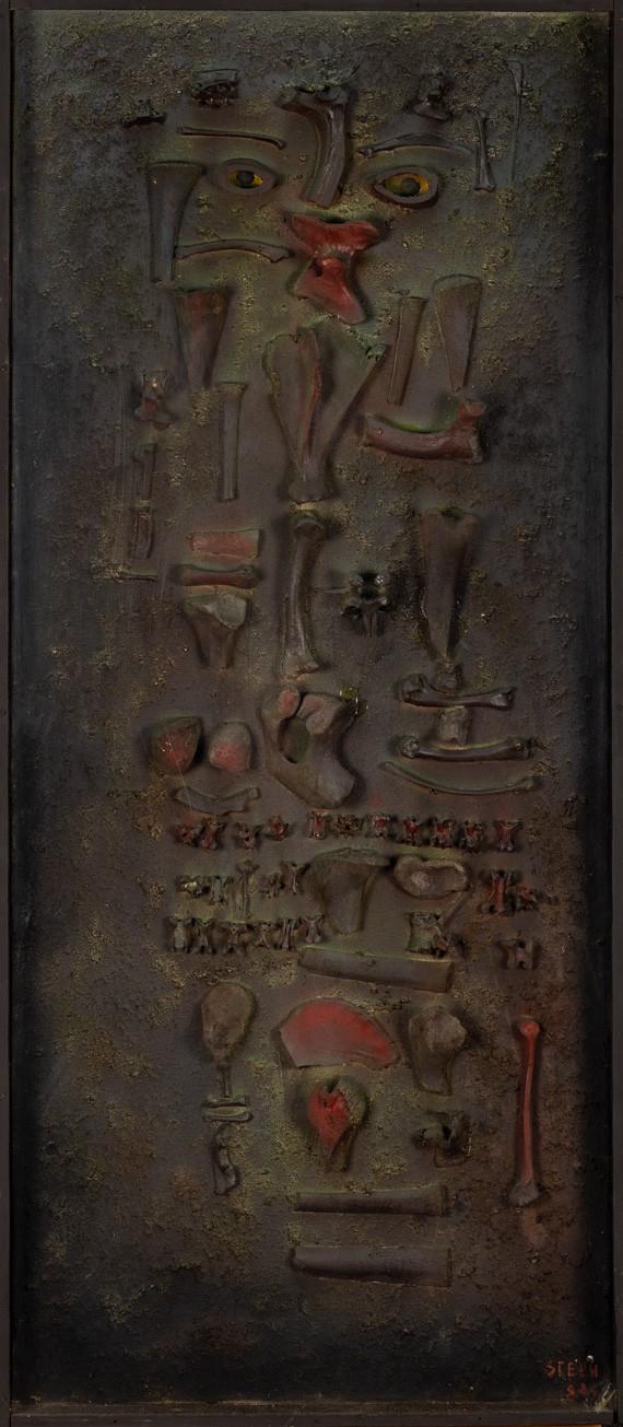Jonasz Stern, Cannibal's portrait, 1983.