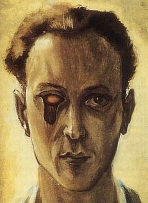 Victor Brauner, self-portrait, 1930