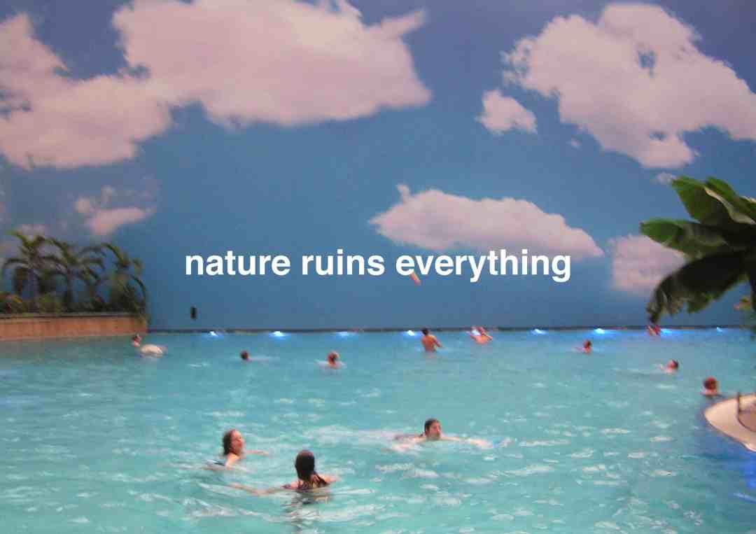 Martin Bothe: Nature ruins everything, 2016/2020, © Martin Bothe und VG Bild-Kunst Bonn, 2020
