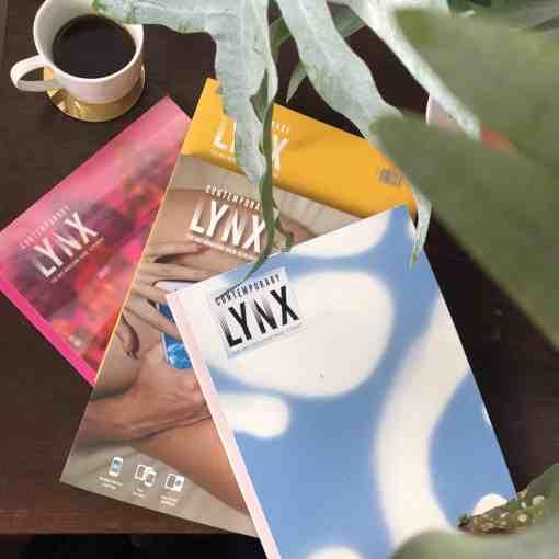 contemporary lynx magazine sale