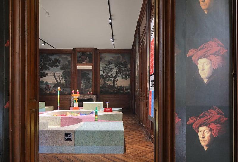 Kleureyck - Van Eyck's Colours in Design, the Design Museum, Ghent.