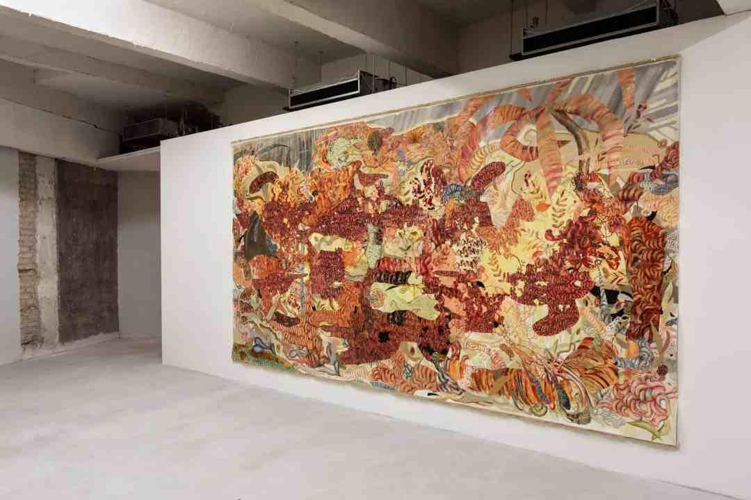 Radu Oreian painting
