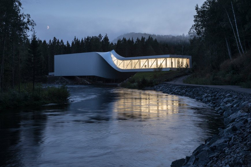 """The Twist"" museum in Kistefos, Norway; photo by Laurian Ghinitoiu, Source: inexhibit"