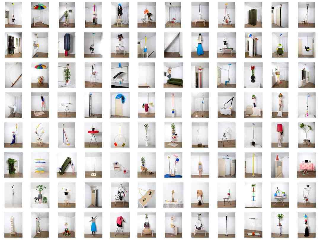 Csilla Klenyanszki, Pillars of home, contact sheet