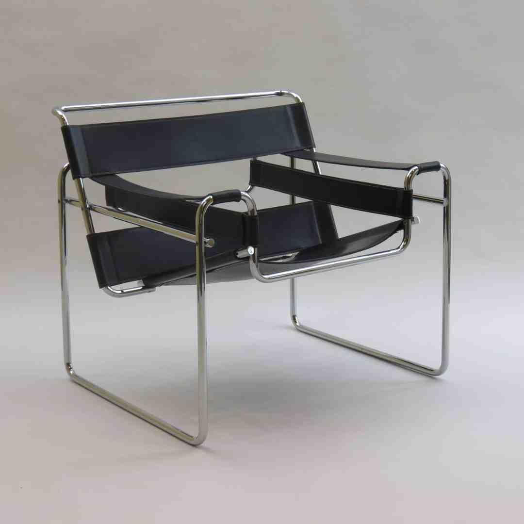 The Wassily Chair, Marcel Breuer 1925, Source: www.vntg.com